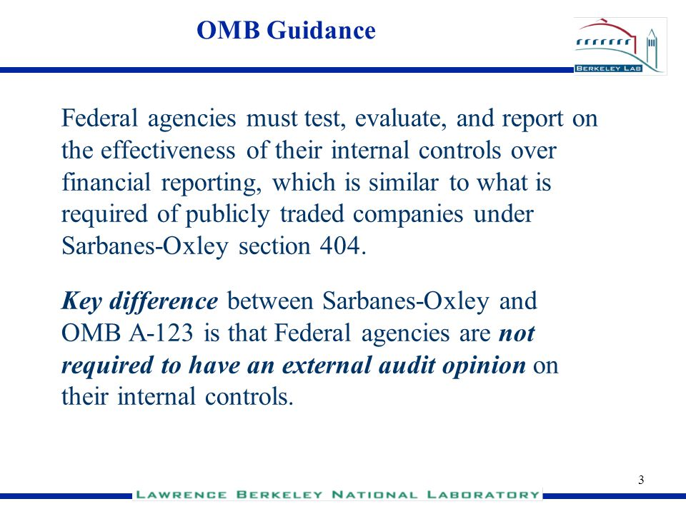 OMB Guidance