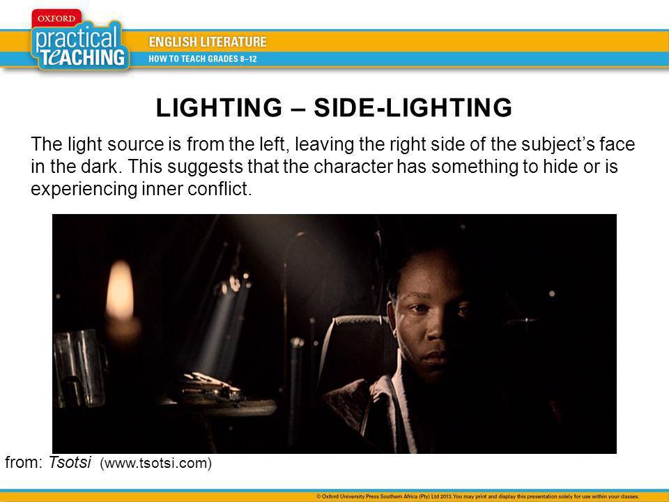 LIGHTING – SIDE-LIGHTING