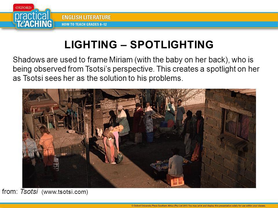 LIGHTING – SPOTLIGHTING