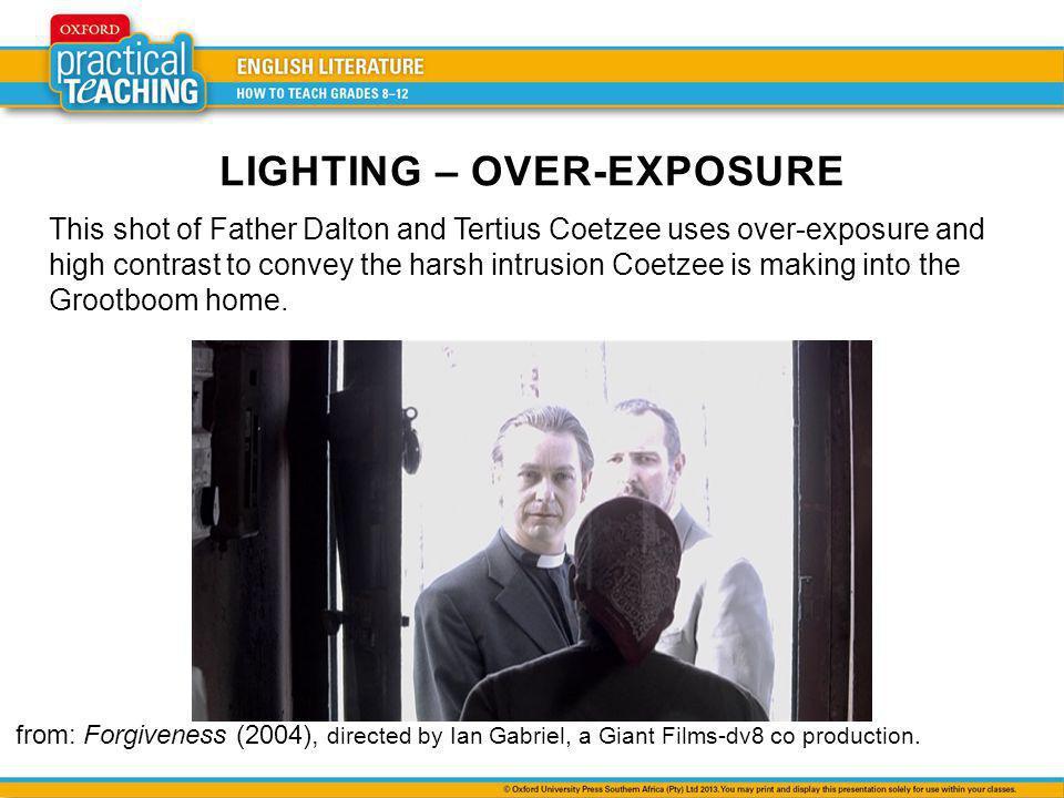LIGHTING – OVER-EXPOSURE