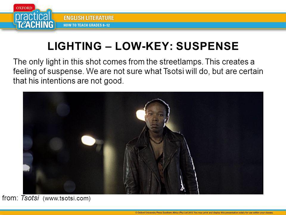 LIGHTING – LOW-KEY: SUSPENSE