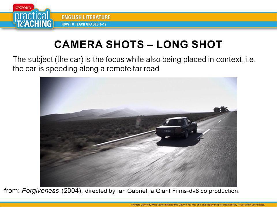 CAMERA SHOTS – LONG SHOT