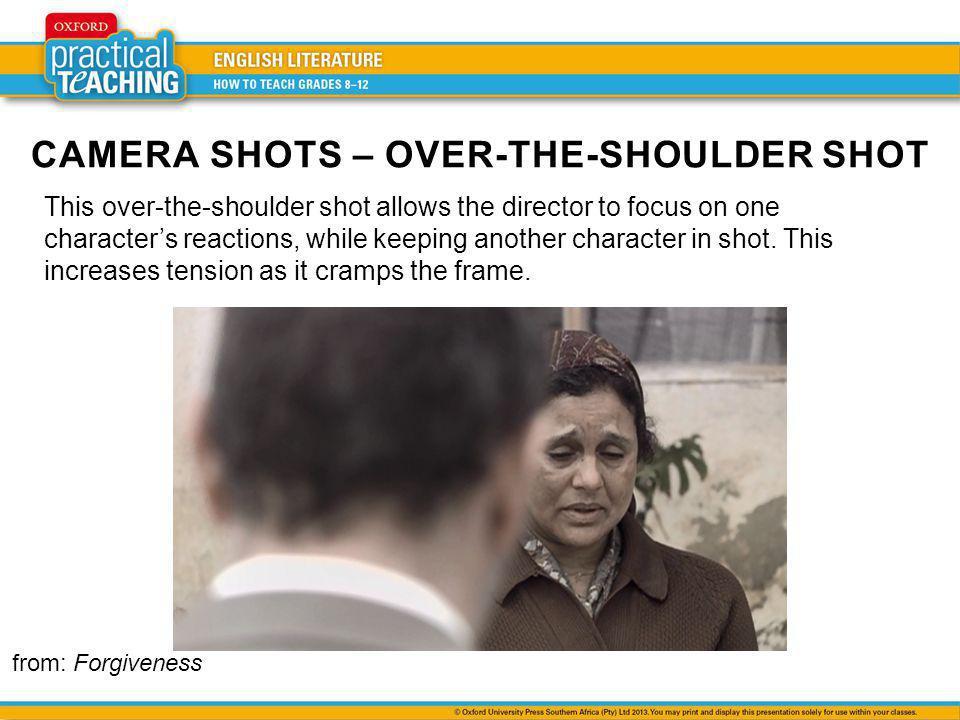 CAMERA SHOTS – OVER-THE-SHOULDER SHOT