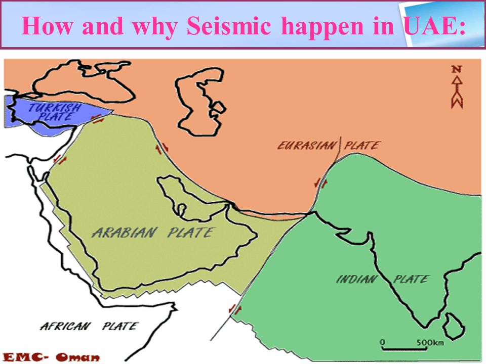 How and why Seismic happen in UAE: