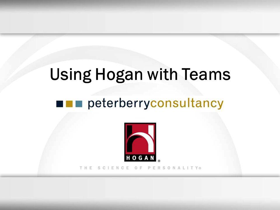 Using Hogan with Teams 35