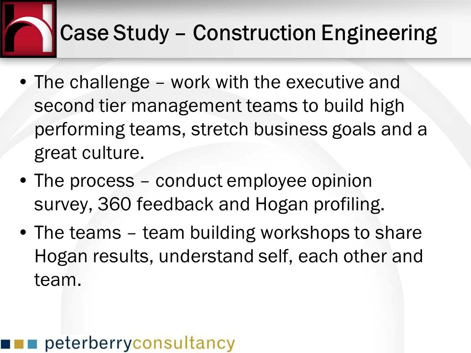 Case Study – Construction Engineering