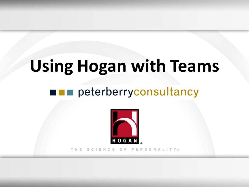 Using Hogan with Teams 6