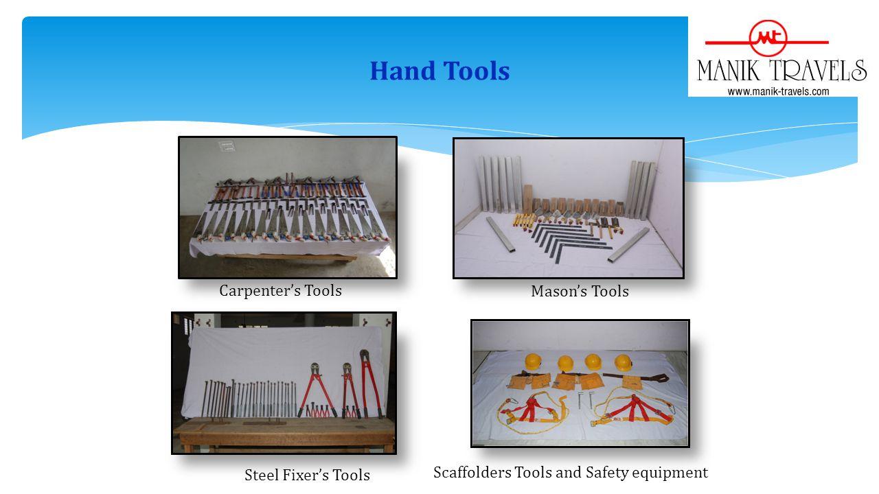 Hand Tools Carpenter's Tools Mason's Tools