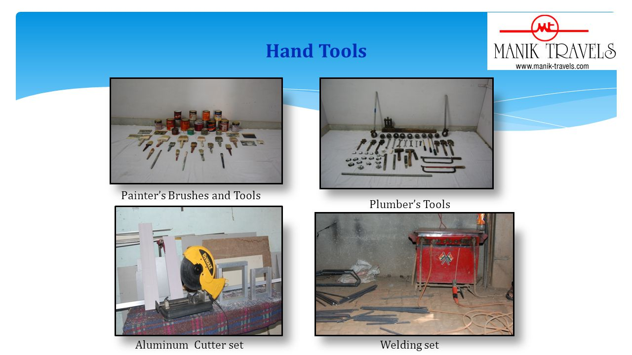 Hand Tools Painter's Brushes and Tools Plumber's Tools