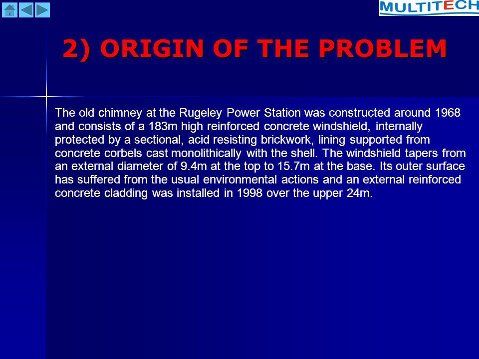 2) ORIGIN OF THE PROBLEM