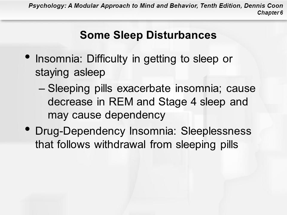 Some Sleep Disturbances