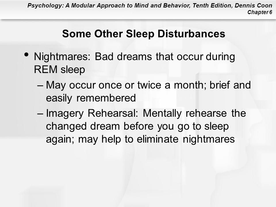 Some Other Sleep Disturbances