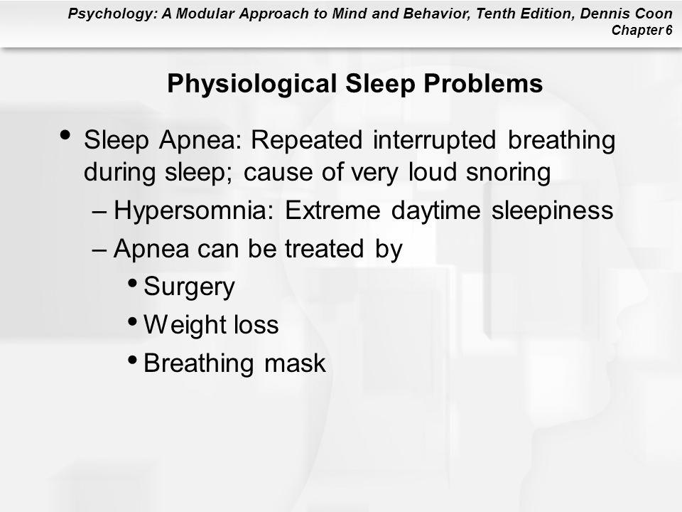 Physiological Sleep Problems