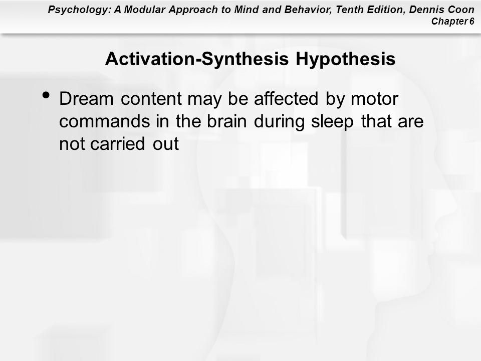 Activation-Synthesis Hypothesis