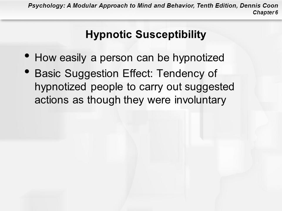 Hypnotic Susceptibility