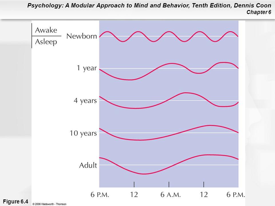 Figure 6. 4 Development of sleep patterns