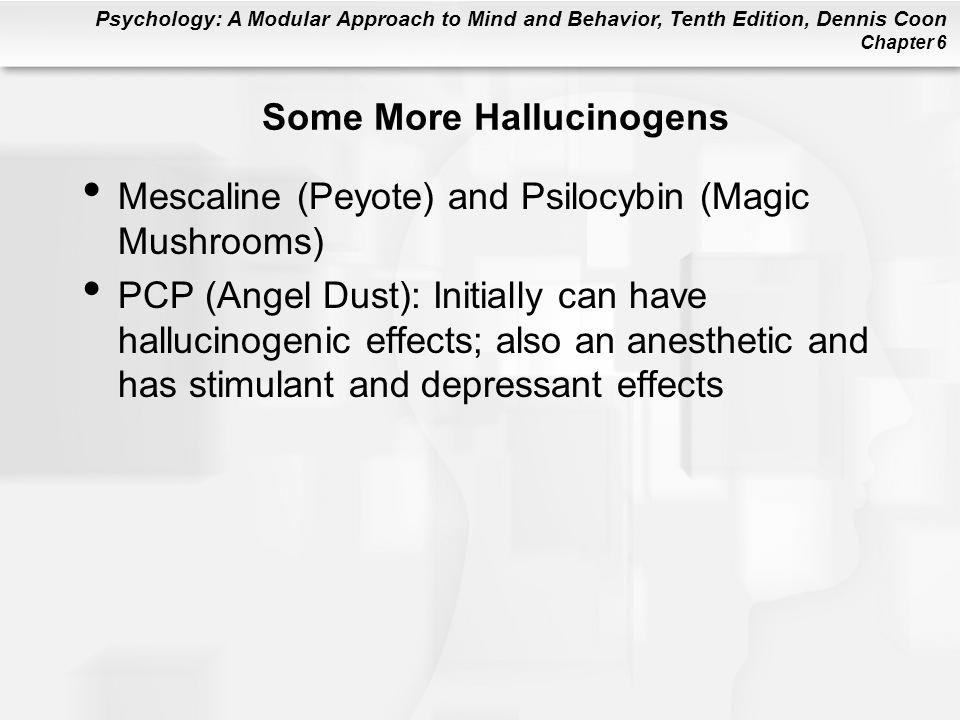 Some More Hallucinogens
