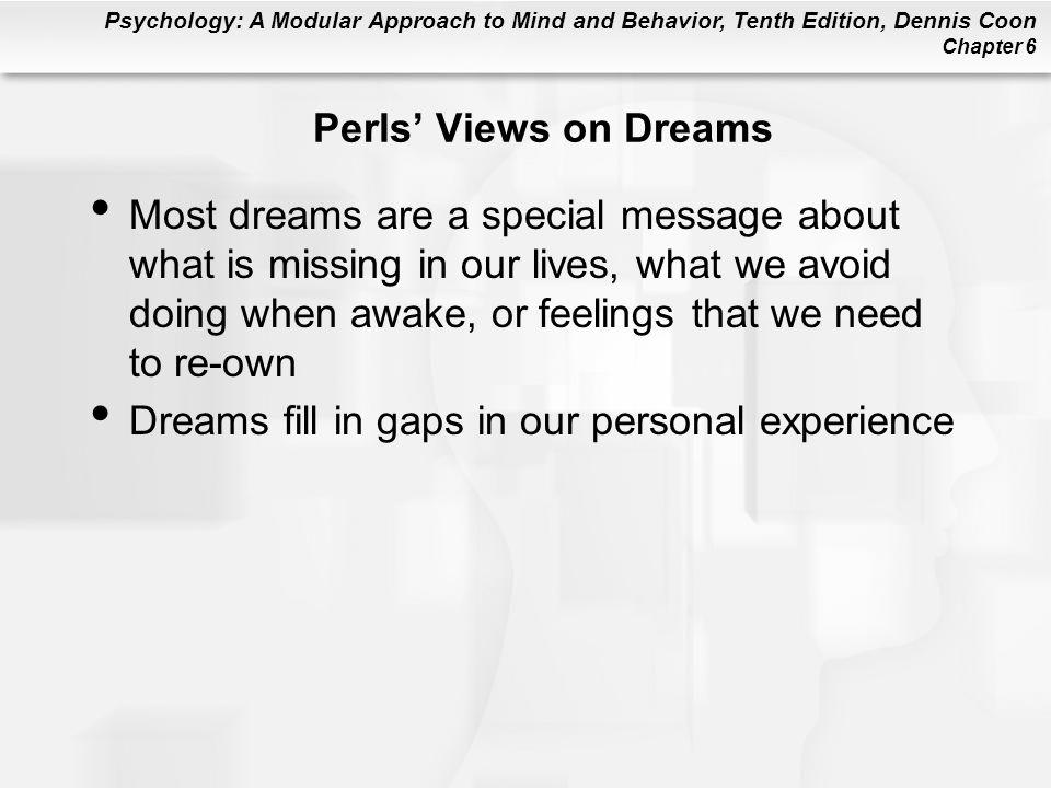 Perls' Views on Dreams