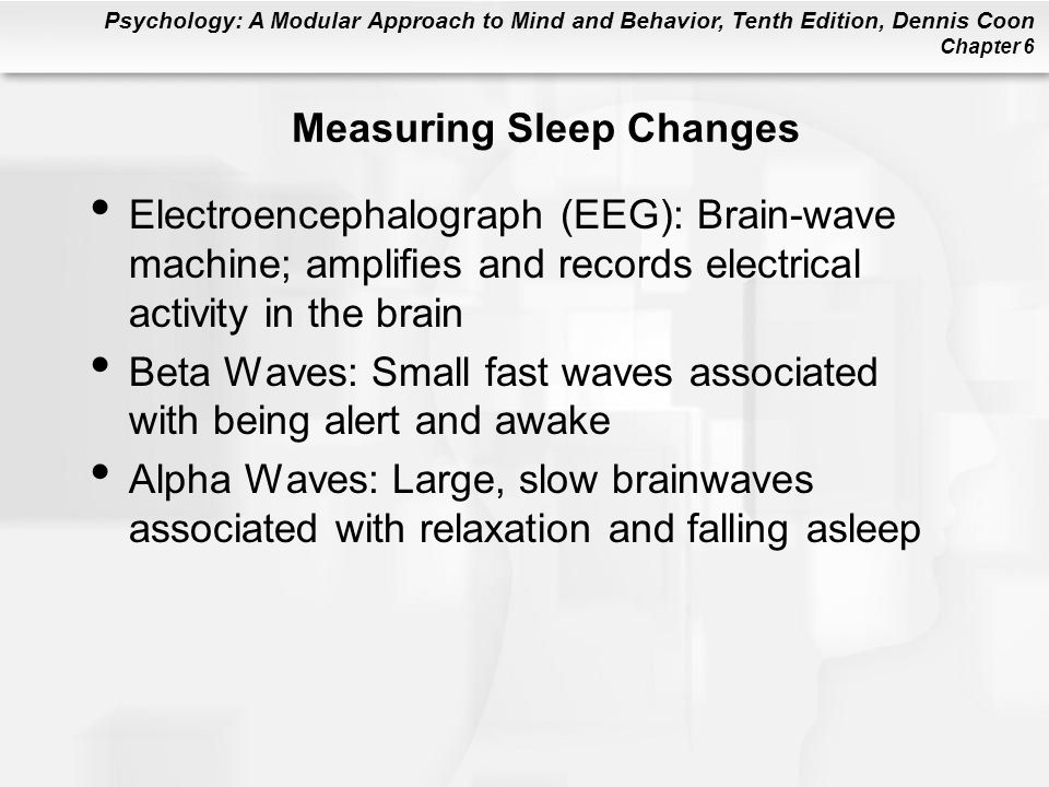 Measuring Sleep Changes