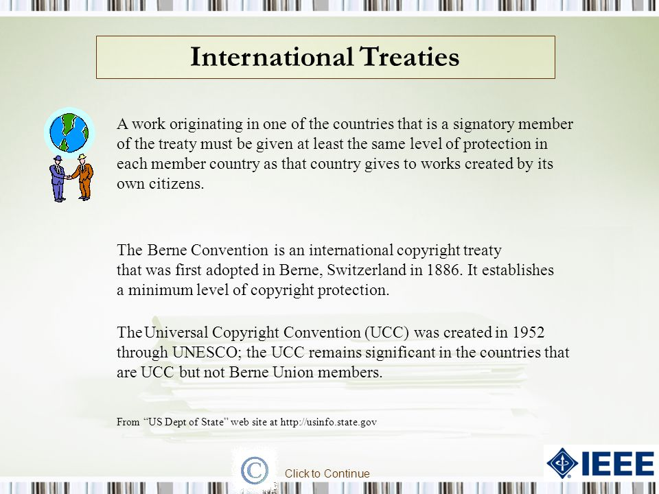 International Treaties