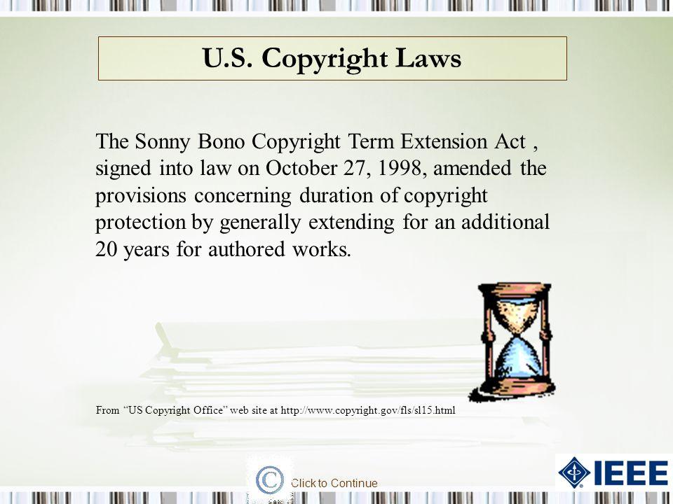 U.S. Copyright Laws