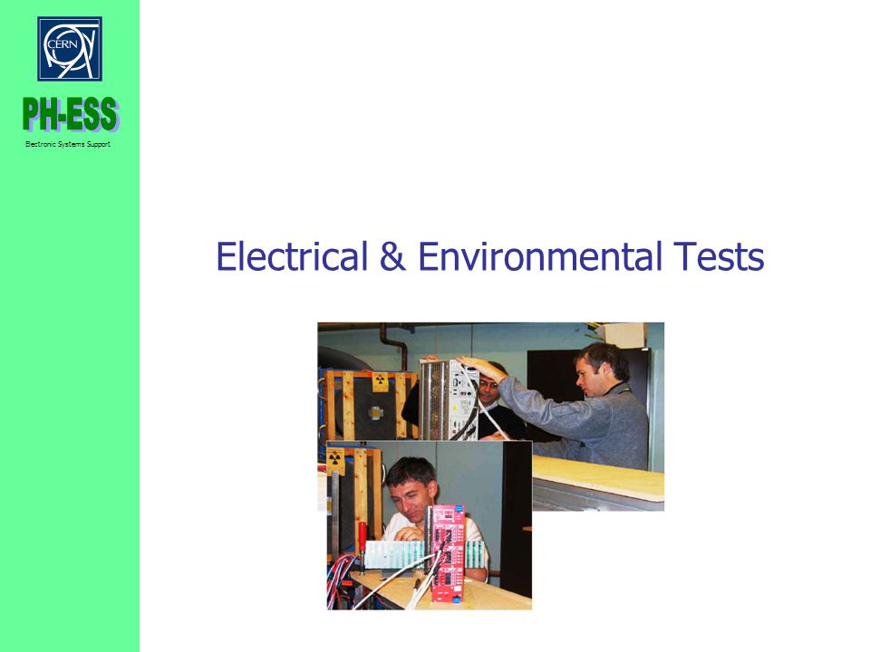 Electrical & Environmental Tests