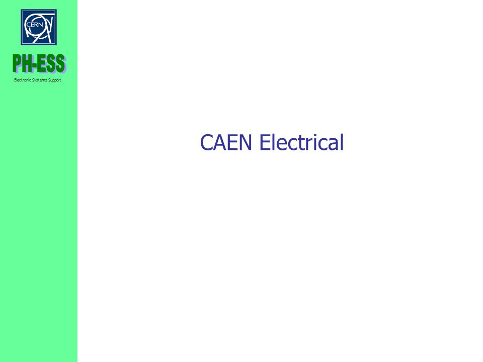 CAEN Electrical