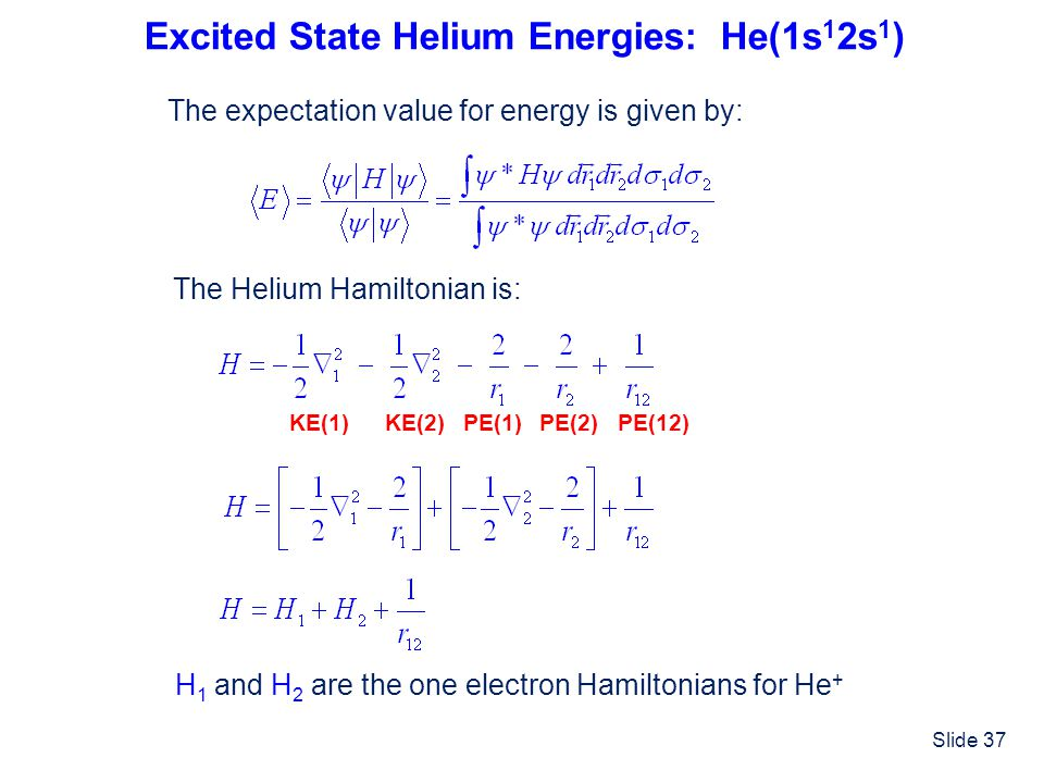 Excited State Helium Energies: He(1s12s1)