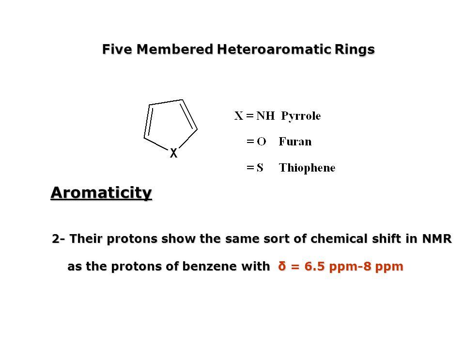 Aromaticity Five Membered Heteroaromatic Rings