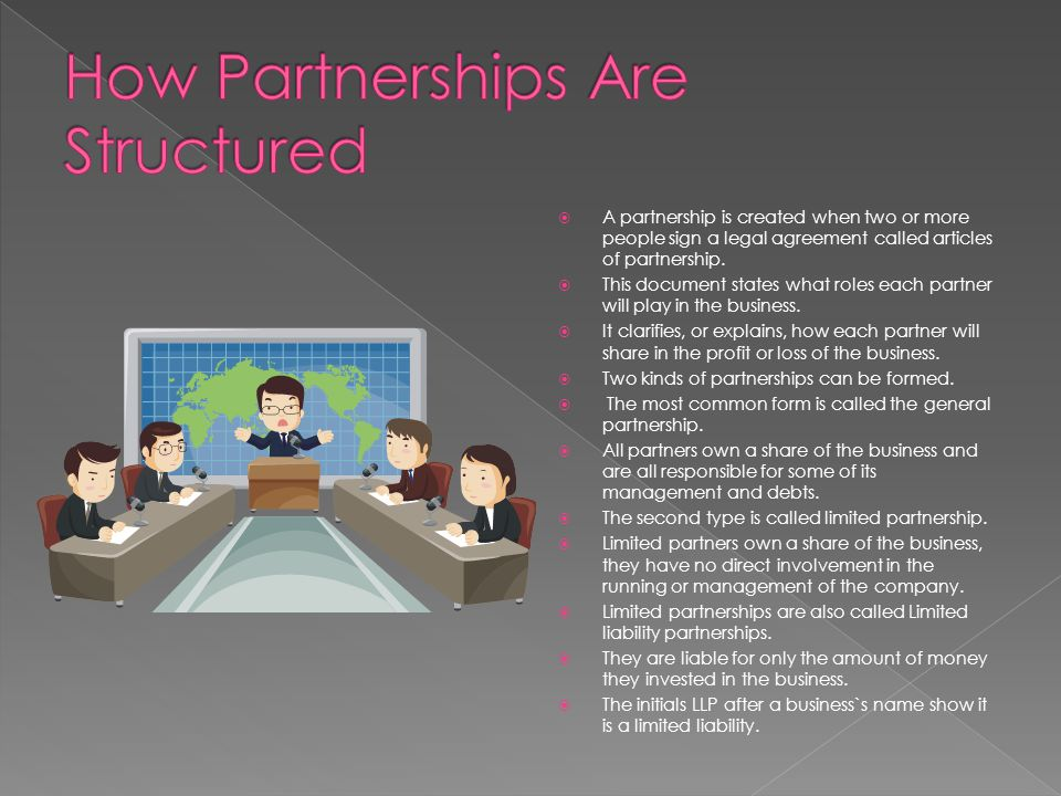 How Partnerships Are Structured