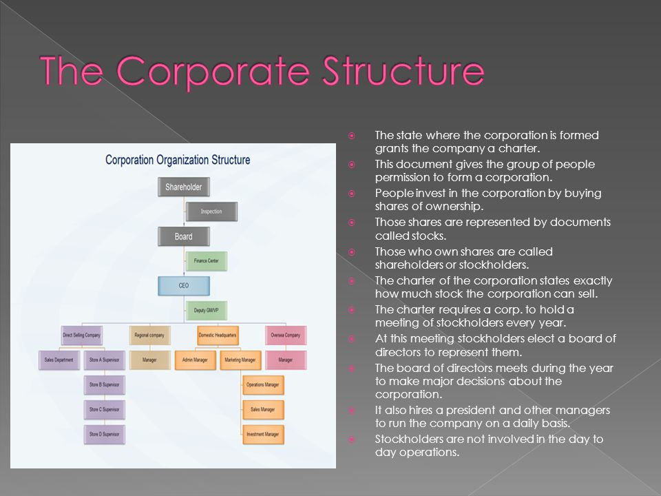 The Corporate Structure
