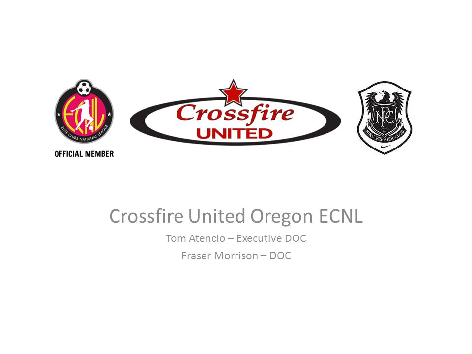 Crossfire United Oregon ECNL