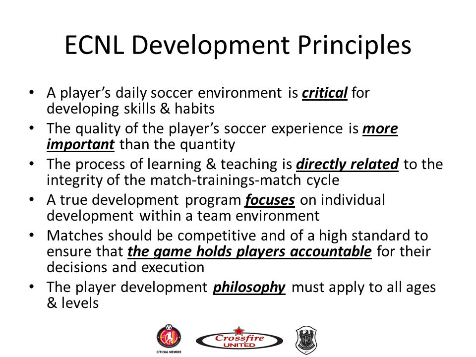 ECNL Development Principles