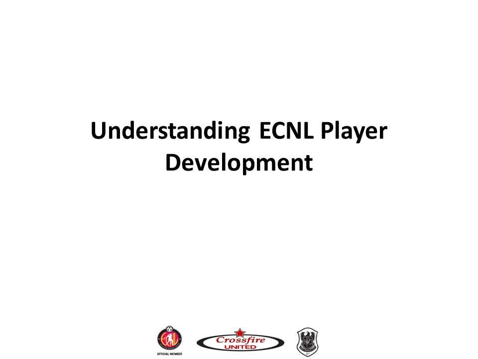 Understanding ECNL Player Development