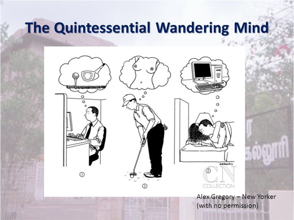 The Quintessential Wandering Mind