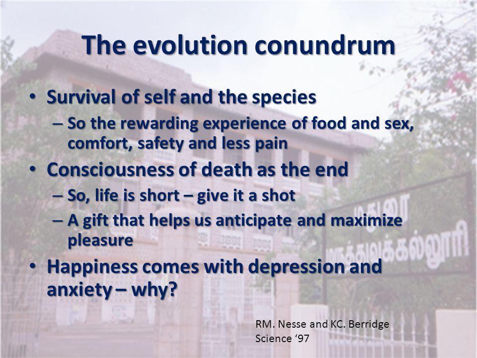 The evolution conundrum