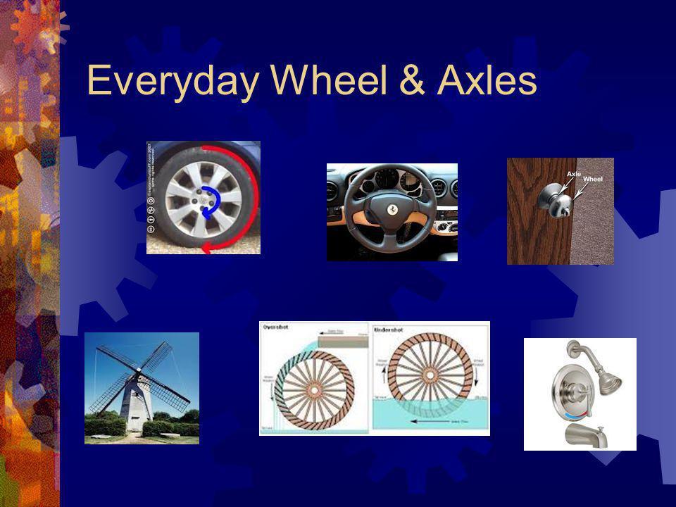 Everyday Wheel & Axles
