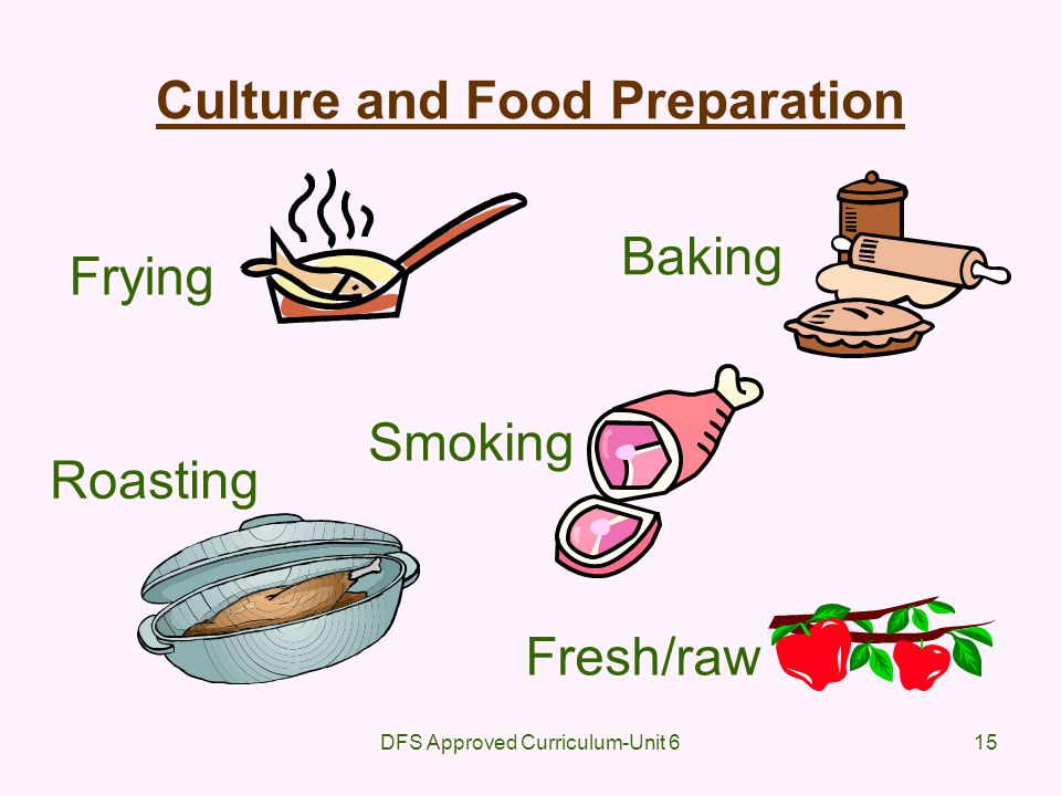 Culture and Food Preparation