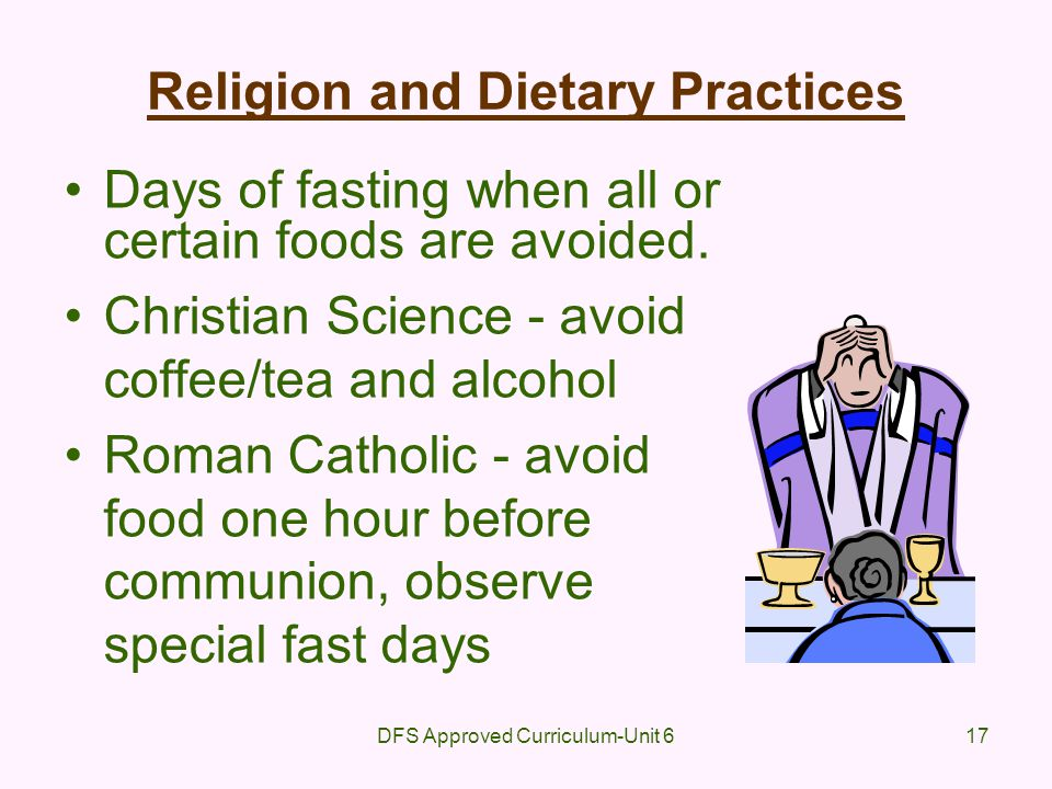 Religion and Dietary Practices