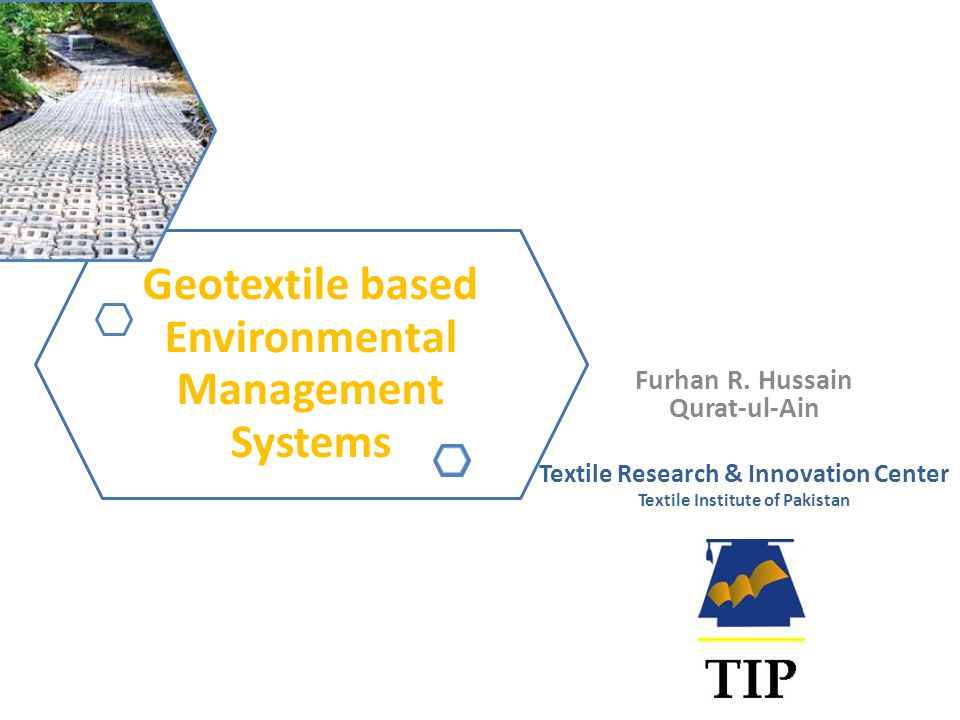 Geotextile based Environmental Management Systems