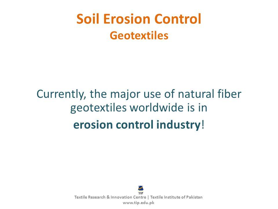 Soil Erosion Control Geotextiles