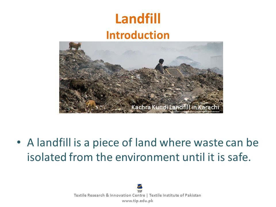 Landfill Introduction