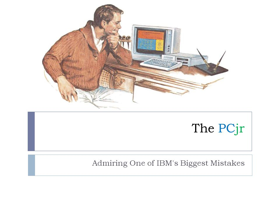 Admiring One of IBM s Biggest Mistakes