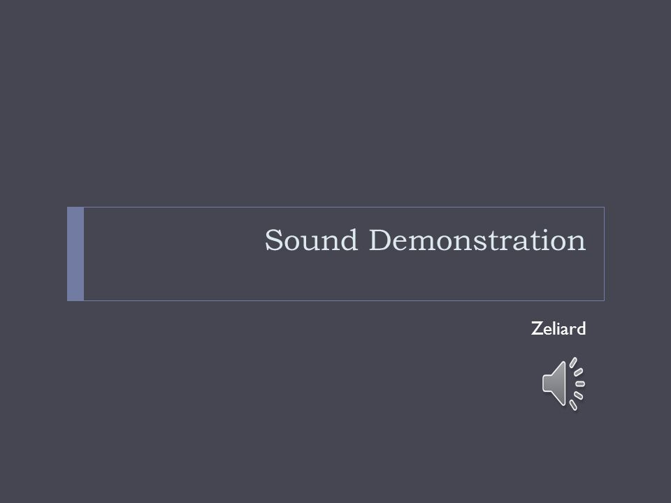 Sound Demonstration Zeliard