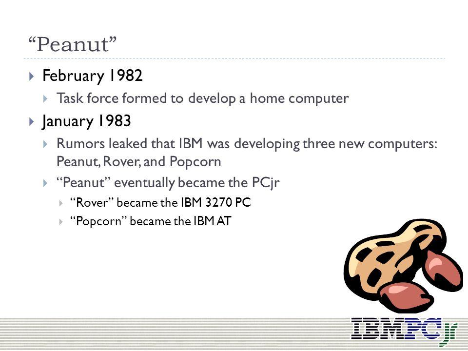 Peanut February 1982 January 1983