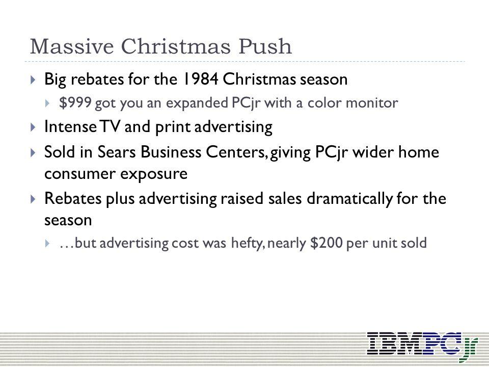 Massive Christmas Push