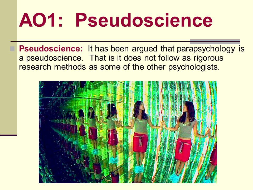 AO1: Pseudoscience