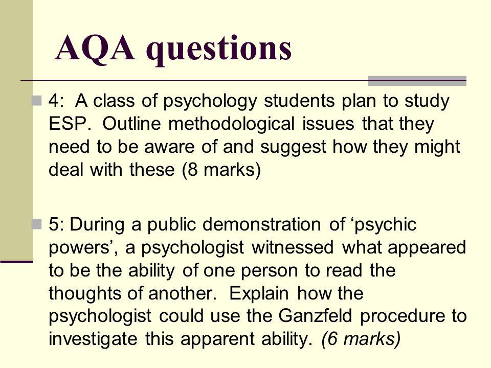 AQA questions