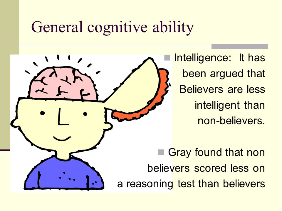 General cognitive ability