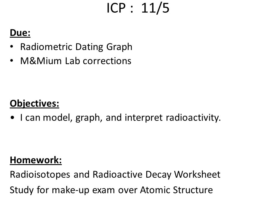 Nuclear Chemistry ppt download – Radioactive Dating Worksheet